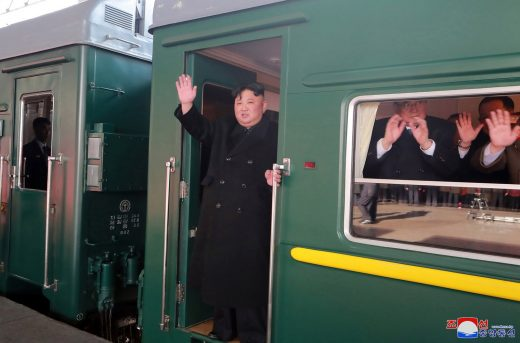 Kim-Jong-un-Donald-Trump-no-Vietnã-520x343 Kim Jong-un pega trem para encontro com Donald Trump no Vietnã