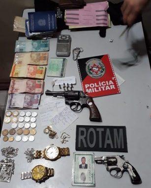apreesao-307x380 Polícia prende suspeitos de tráfico e apreende armas de fogo em Monteiro