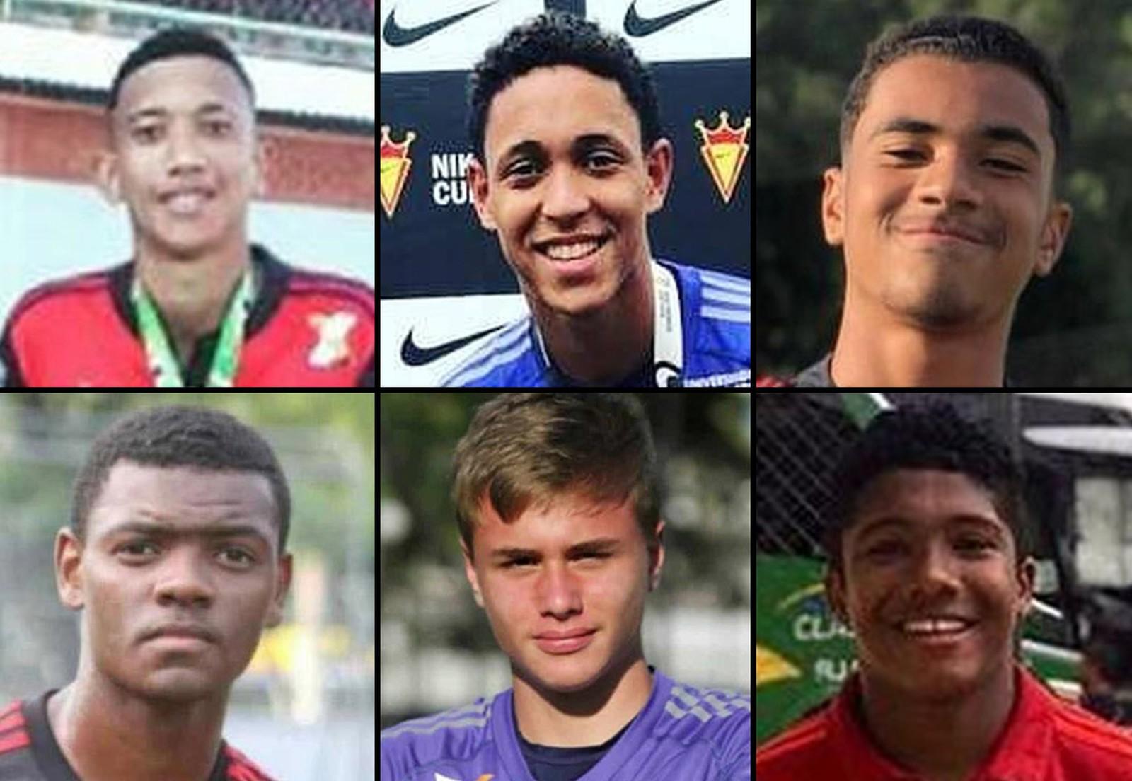 mortos-520x359 Atletas da base do Flamengo morrem em incêndio no CT Ninho do Urubu