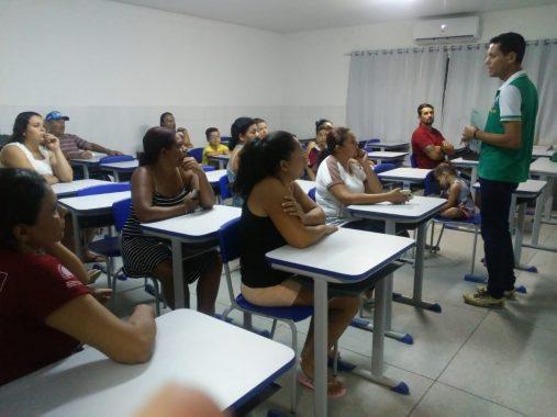 reuniao3-507x380 Escola municipal de Monteiro Araújo Valença, realiza encontro entre pais e professores