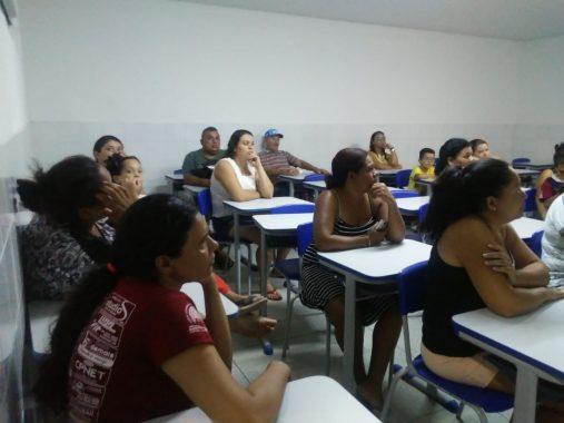 reuniao5-507x380 Escola municipal de Monteiro Araújo Valença, realiza encontro entre pais e professores