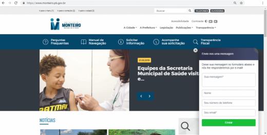 site-prefeitura-de-monteiro-520x264 Prefeitura de Monteiro lança novo site oficial mais moderno, completo e acessível