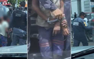 09-03-2019.164657_viaturas Menores são amarradas e levadas por PMs em viatura no Maranhão
