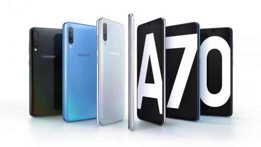 a70-520x293 Samsung anuncia Galaxy A70; celular tem câmera de 32 megapixels
