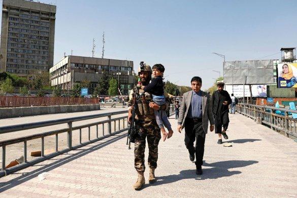ATAQUES-585x390 Sete Mortos: Sede do Ministério de Informação do Afeganistão sofre ataque