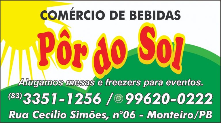 DISTRIbuidora-por-do-sol-768x428-520x290 Em Monteiro: Comércio de Bebidas Pôr do Sol