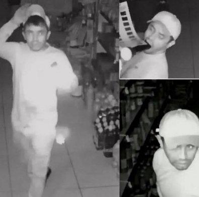 assalto-cariri-suspeito-395x390 Polícia Civil quer identificar homem que fez diversos assaltos no Cariri