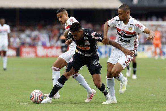 esporte-sao-paulo-corinthians-585x390 São Paulo e Corinthians empatam no 1º jogo da final Campeonato Paulista