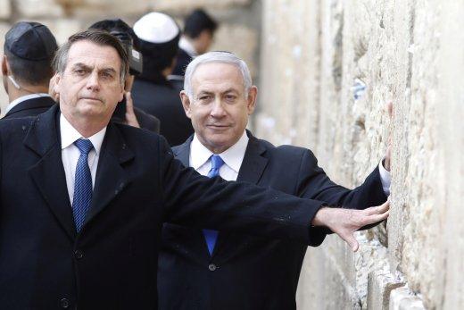 israel-brazil-bolsonaro-western-wall--520x347 'Vamos jogar pesado na Previdência', diz Bolsonaro antes de deixar Israel
