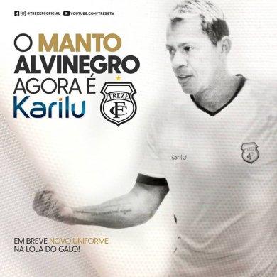 marcelinho-paraiba-treze-390x390 O Treze Futebol Clube anuncia a Karilu como nova fornecedora de material esportivo