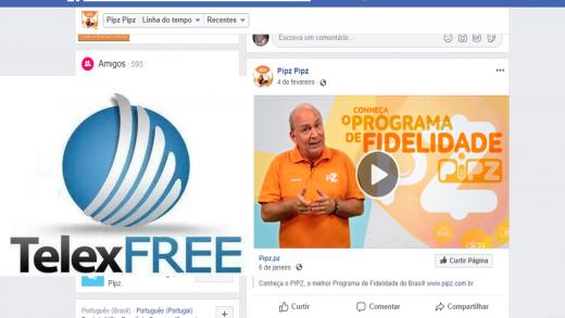 pipz-telexfree-carlos-costa-520x293 Sócio da Telexfree: Carlos Costa depois de enganar mais 2 milhões de pessoas, tenta abrir novo negócio Pipz prometendo ganhos online