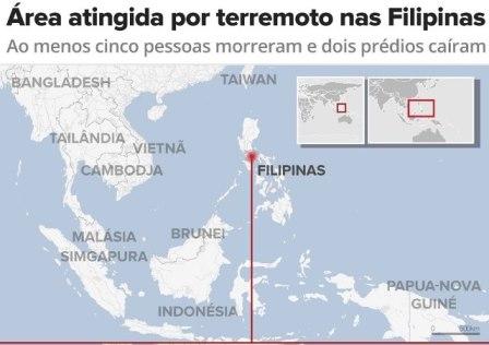 terremoto-filipinas-552x390 Terremoto de 6,1 de magnitude abala as Filipinas