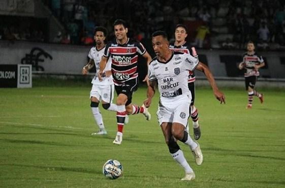 treze Treze empata com Santa Cruz na sua estreia na Série C
