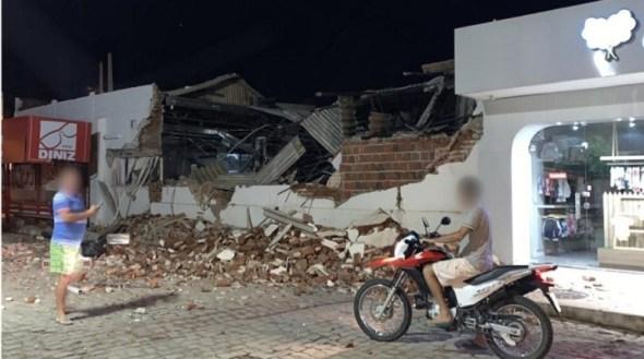 Explosão-Bradesco-São-Bento-22mai2019-4 Duas agências bancárias são explodidas na madrugada
