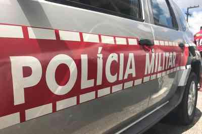 POLICIA-MILITAR-VIATURA Bandidos realizam arrastão em posto de saúde na zona rural de Cabaceiras