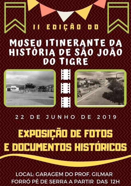 SAO-JOAO-459x650 Museu Itinerante da história de São João do Tigre abrirá suas portas dia 22 de junho