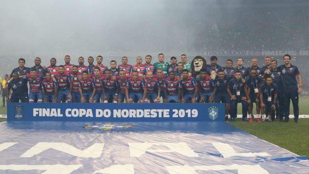 Time_Fortaleza_Campeao_Leonardo_Moreira_FEC_1280 Fortaleza vence o Botafogo-PB por 1 a 0 e é campeão da Copa do Nordeste