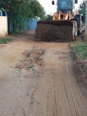 Trabalho-ZOna-Rural-2-293x390 Secretaria de Agricultura de Monteiro continua realizando melhorias na zona rural