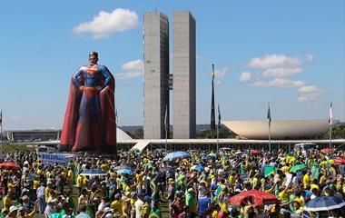 atos-bolsonaro Atos em apoio a Bolsonaro ocorrem em diversas cidades do país
