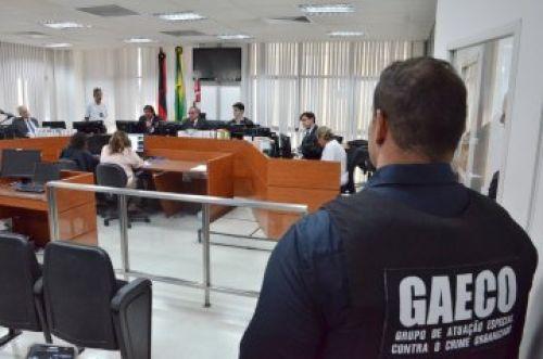 audienciGAECO Presa na quarta fase da Operação Calvário permanecerá em presídio de João Pessoa