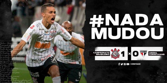 corinthians-1-700x350 Após vitória, Corinthians provoca São Paulo com #NadaMudou