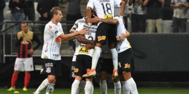 Corinthians vence Lara e encaminha vaga na Sul-Americana