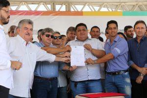 ode Governador inaugura sistema abastecimento d'água de Caraúbas e beneficia 3 mil paraibanos