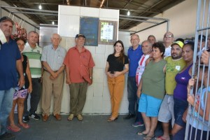 005-15 Prefeita de Monteiro entrega reforma e modernização do açougue público