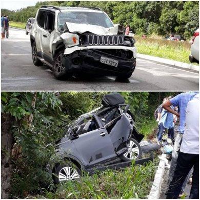 65177205_3320937631265043_8604738523930558464_n-390x390 Acidente entre veículos deixa mulher morta e dois feridos na Paraíba*