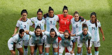 ARGENTINA-FEMININA Copa feminina: Argentina, Japão e Inglaterra jogam nesta sexta-feira