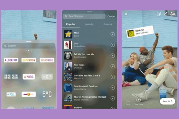 instagram-stories-mucc81sica-585x390 Novo recurso do Instagram permite músicas nos Stories; veja como usar
