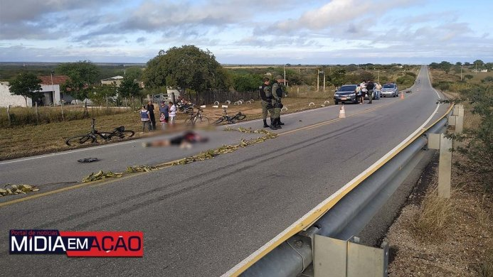 8419149852-693x390 Ciclista morre após ser atropelado na PE-280 em Sertânia