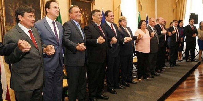 Governadores do NE lançam carta de repúdio contra ato de xenofobia de Bolsonaro