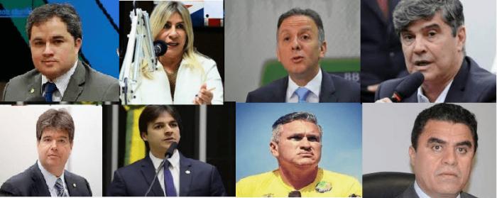 POLITICOS-1-700x279 Confira a bancada paraibana que votou a favor da reforma da Previdência