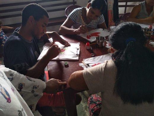 Pintura-1-520x390 Prefeitura de Monteiro oferece mais uma capacitação na zona rural do município