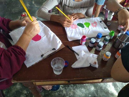 Pintura-5-520x390 Prefeitura de Monteiro oferece mais uma capacitação na zona rural do município