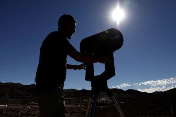 eclise-585x390 Eclipse solar poderá ser observado hoje na América do Sul