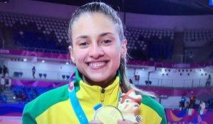 milena-1 Filha de Pratense faz história é medalha de ouro nos Jogos Pan-Americanos no Peru