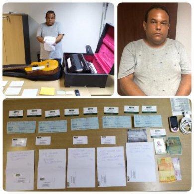 preso-465x465-390x390 Homem é preso acusado de aplicar golpe usando aplicativo de venda na PB e em vários Estados
