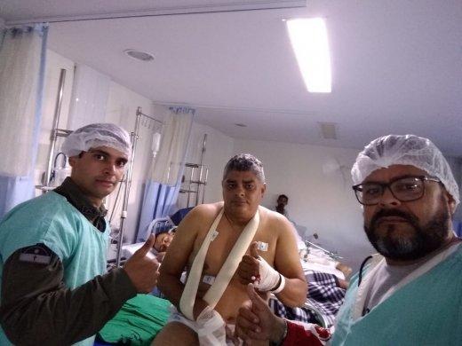 sargento_moacir-520x390 PM ferido durante troca de tiros em Santa Cruz do Capibaribe morre no HRA, em Caruaru