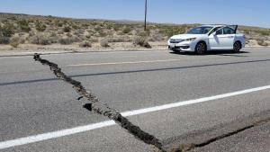 terremoto-california Terremoto atingiu o sul da Califórnia; não há mortos