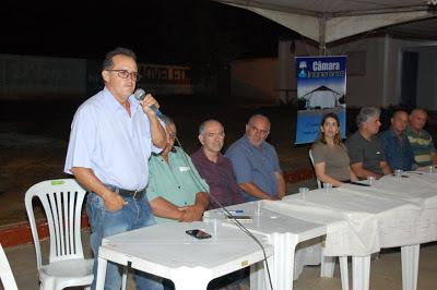 z Câmara de Monteiro retomou sessões itinerantes na noite desta quarta feira na zona rural