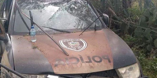 Delegada é vítima de capotamento de carro em Barra de Santa Rosa