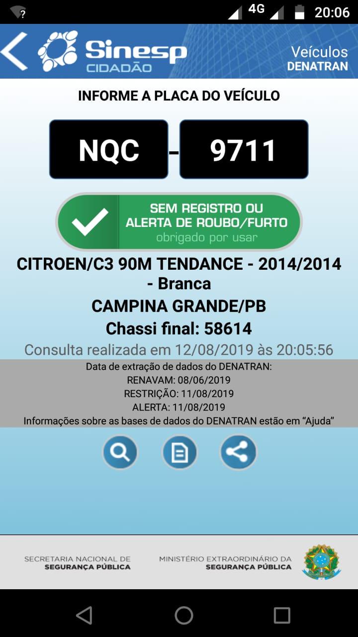 IMG-20190812-WA0537 Bandidos roubam carro de Capitão da PM em Monteiro