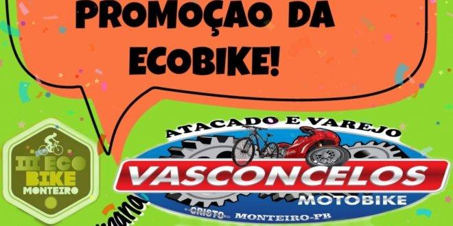 MEGA PROMOÇÃO ECOBIKE! na Vasconcelos Moto Peças e Bike