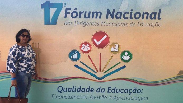 Rosa-Almeida-2-1024x576-693x390 Secretaria de Educação representa São Sebastião do Umbuzeiro no 17º Fórum Nacional da Educação