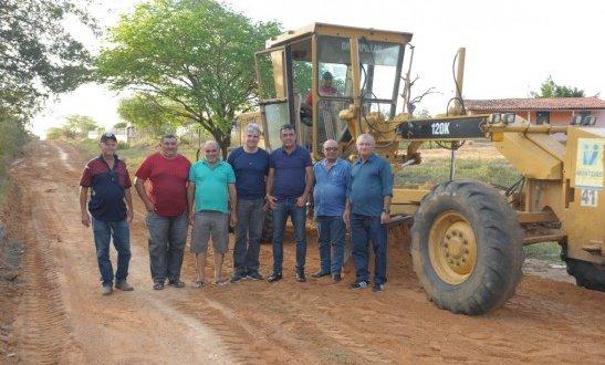Prefeito em exercício de Monteiro visita zona rural e moradores parabenizam a gestão municipal