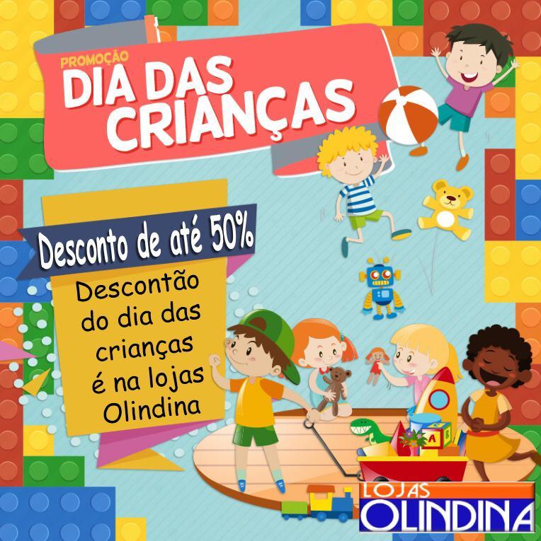 IMG-20190925-WA0542-389x390 Promoção dia das Crianças Lojas Olindina, descontos de Até 50%