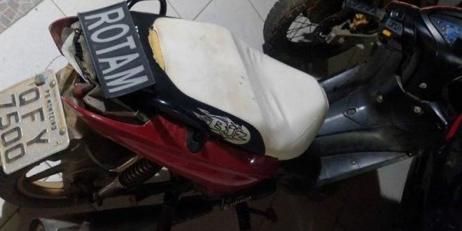 Polícia Militar de Monteiro recupera motocicleta furtada
