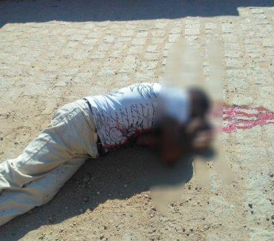 Pescador-Vitima-sumé Homem é executado a tiros em plena luz do diaem Sumé